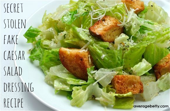 Fake Caesar Salad Dressing Video