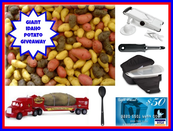 GIANT Idaho Potato Giveaway