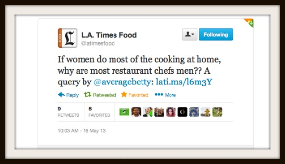 LA Times Food on Twitter