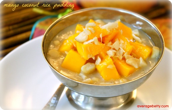 Mango Coconut Rice Pudding Recipe