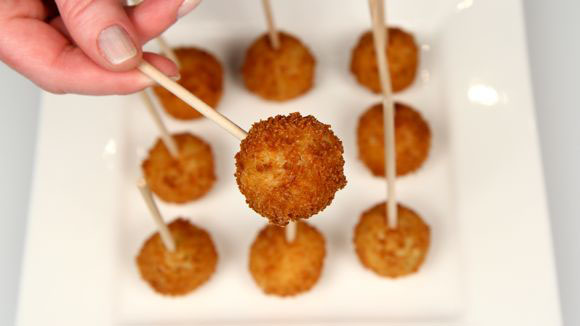 Mashed Potato Popper Pops Recipe