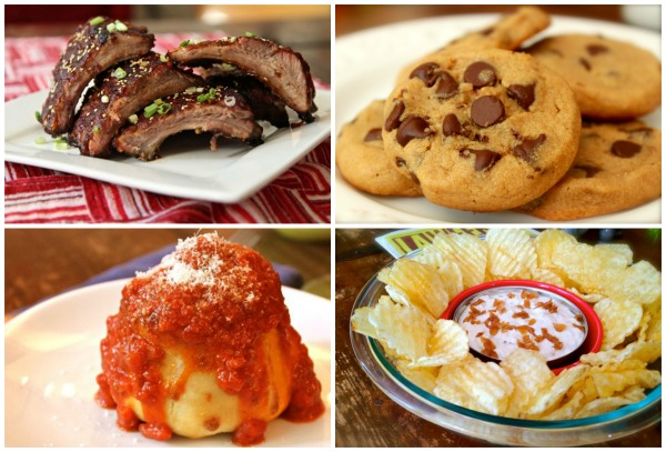 Recipes featured in the video.
