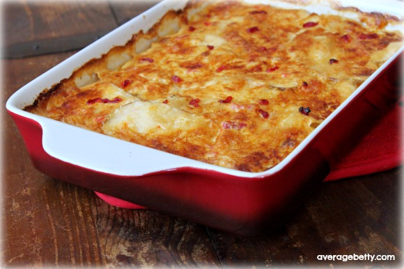 Pimento Cheese Potato Gratin Recipe - Average Betty