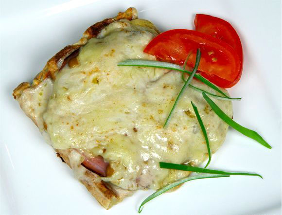 How to Make Potato Waffle Croque Monsieur Recipe