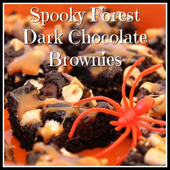 Spooky Forest Dark Chocolate Brownies at Babble.com