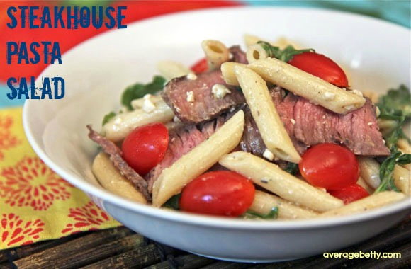 SSteakhouse Pasta Salad Recipe Video