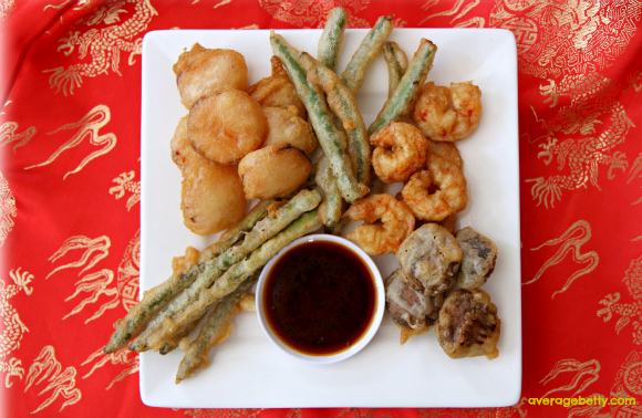 Get the Easy Tempura and Dipping Sauce Recipe!