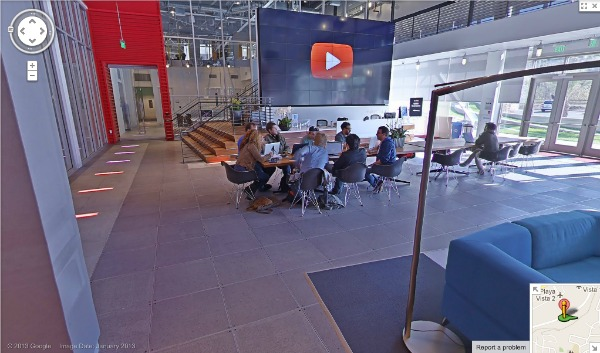Average Betty at YouTube Space on Google Maps