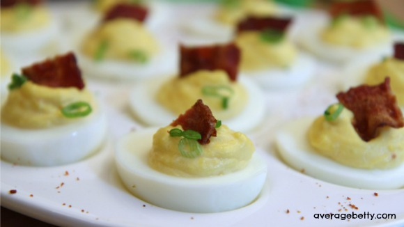 HORSE EGGS - Horseradish Deviled Eggs Recipe