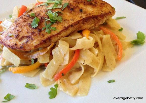 #FDKnorrDinner Giveaway - Spicy Chicken Alfredo