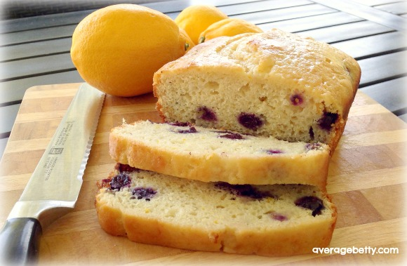 How to Make Lemon Blueberry Bread Recipe