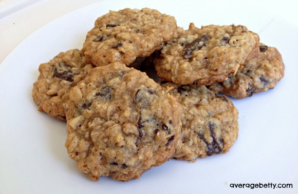 Oatmeal Chocolate Chunk Cookies Recipe
