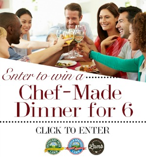 Win a Chef Made Dinner for Six! from Mountain States Rosen