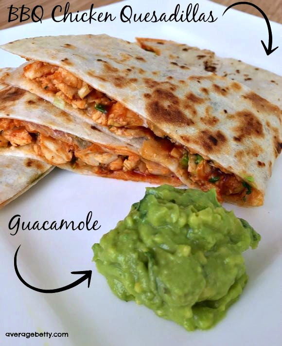 BBQ Chicken Quesadillas Recipe