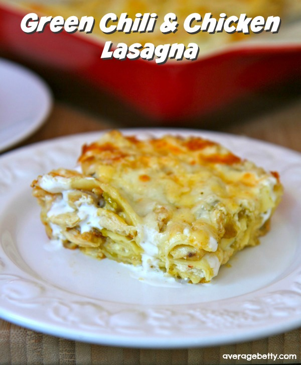 Green Chili and Chicken Lasagna Recipe f/ Cacique Cheese