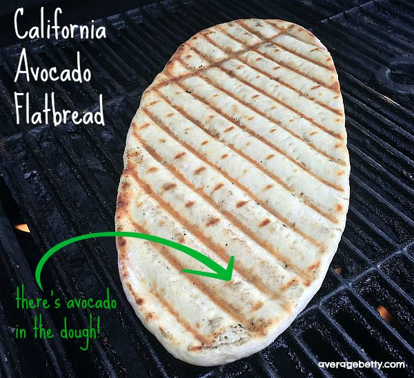 California Avocado Flatbread Recipe