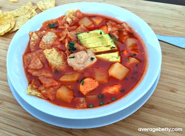 Chicken Tortilla Soup Recipe f/ Idaho Potatoes