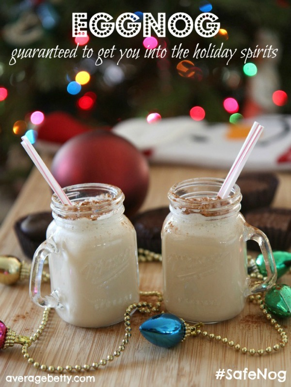 Homemade Eggnog Recipe f/ Davidson's Safest Choice Eggs