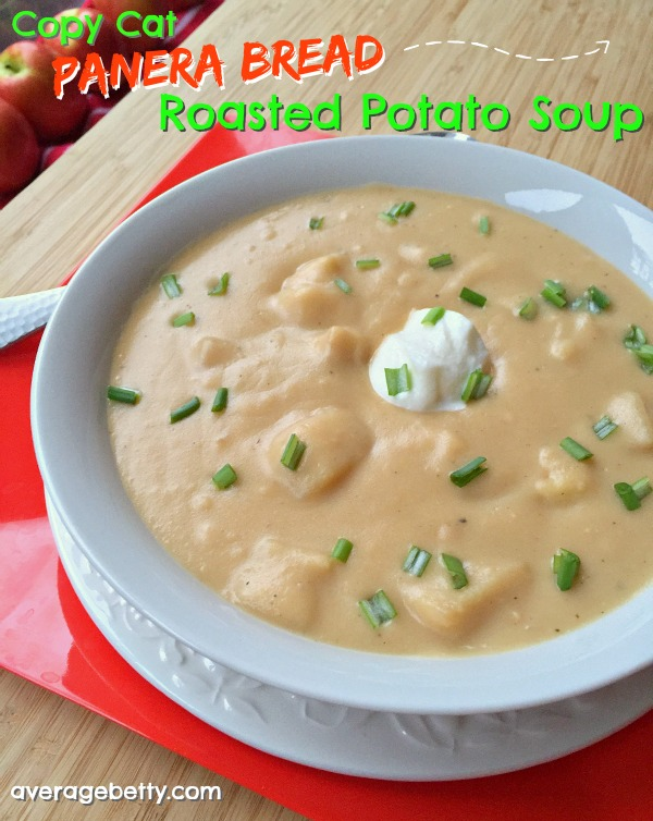 Copy Cat Panera Bread Roasted Potato Soup Recipe f/ Idaho Potatoes
