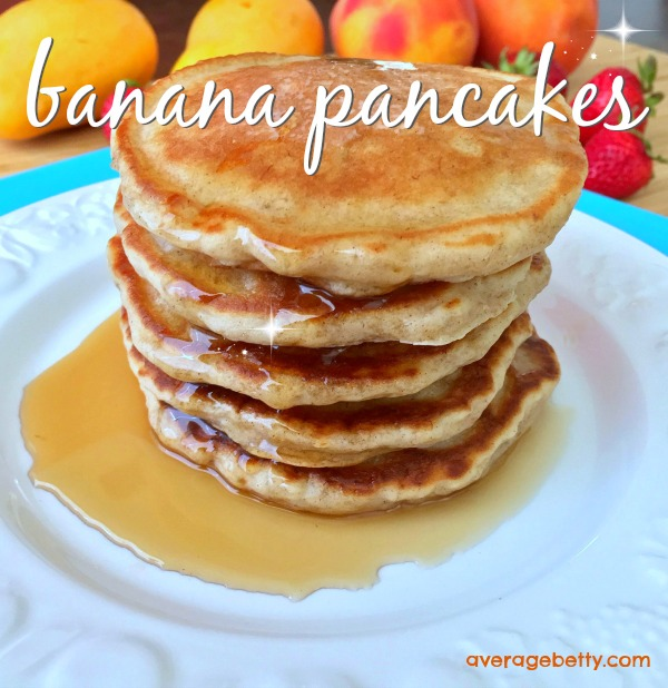 Best Ever Banana Buttermilk Pancakes Recipe