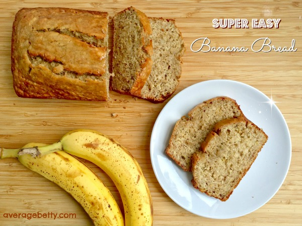 Super Easy Banana Bread Recipe Video