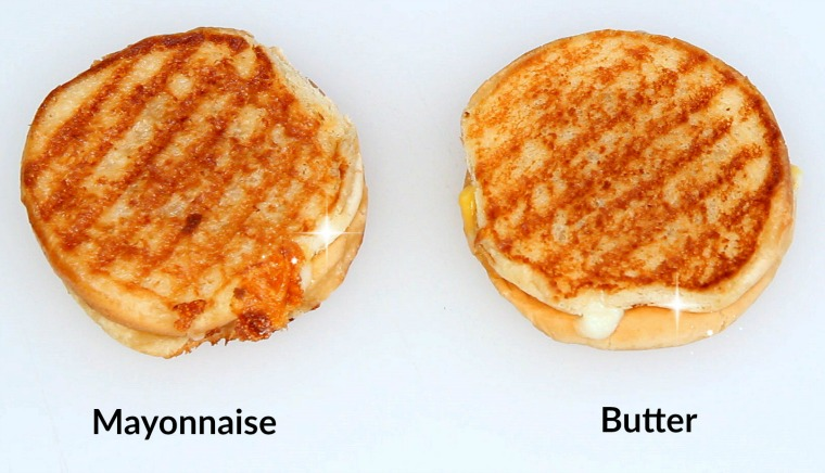 Mayonnaise Grilled Cheese Taste Test Video