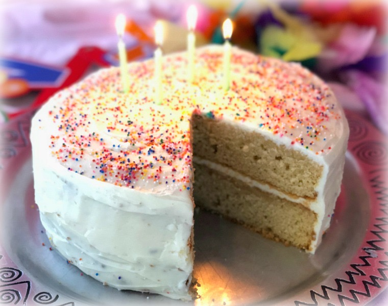 Best Ever Vanilla Birthday Cake Recipe Video