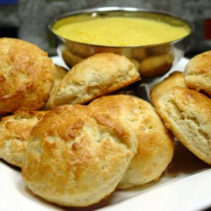 Scones with Lemon Curd Recipe