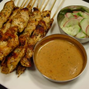 Chicken Satay-ser Video