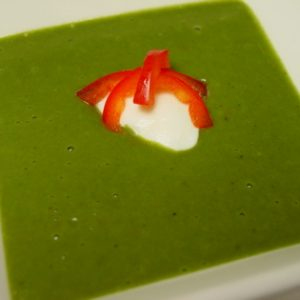 Creamy Spinach Soup (recipe)