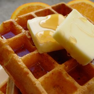 The Best Waffles Ever - AverageBetty.com