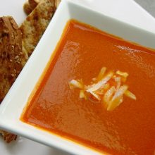 Creamy Tomato Soup and Grilled Cheese Recipe
