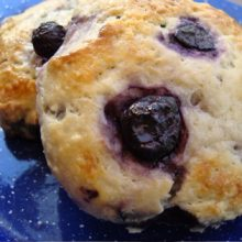 Buttermilk Blueberry Scones Recipe