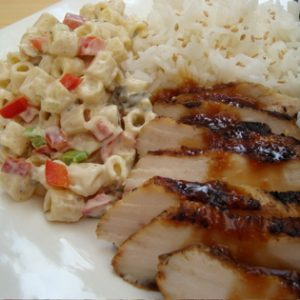 Teriyaki Chicken Plate Lunch Recipe