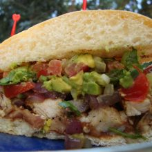 Grilled Chicken Torta Recipe