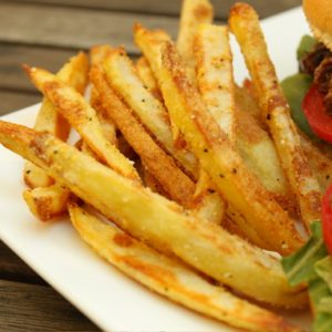 Oven Baked Corn Fries Recipe