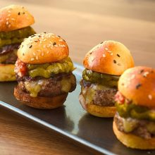 Mini Prime Cheese Burgers with Remoulade Recipe