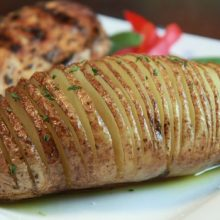 Hasselback Potatoes Video