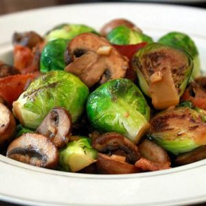 Brussels Sprouts, Bacon & Garlic Recipe