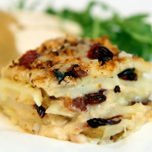 Cranberry Potato Gratin Recipe