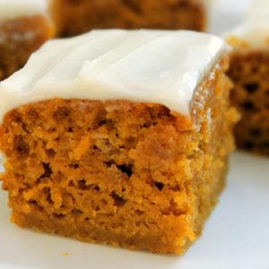 How to Make Pumpkin Bars