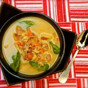 Country Style Ham & Potato Soup Recipe