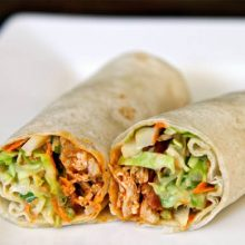 Spicy Buffalo Chicken Wraps Video