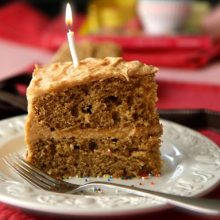 Peanut Butter Birthday Cake Recipe