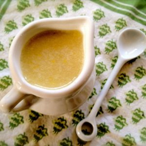 Julia Child's Oil and Lemon Dressing Recipe