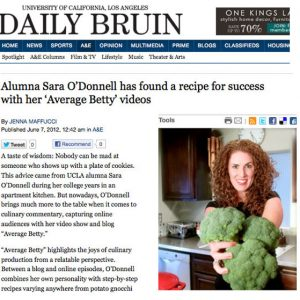 UCLA 8 Clap! Average Betty in The Daily Bruin