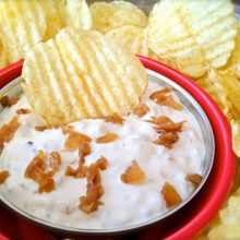 How to Make French Onion Dip Video