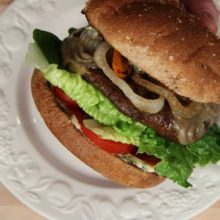 PORTO-BAMO!  How to Make a Portobello Mushroom Burger Video