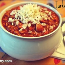 Turkey Chili with Lentils Recipe