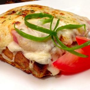 Potato Waffle Croque Monsieur Recipe